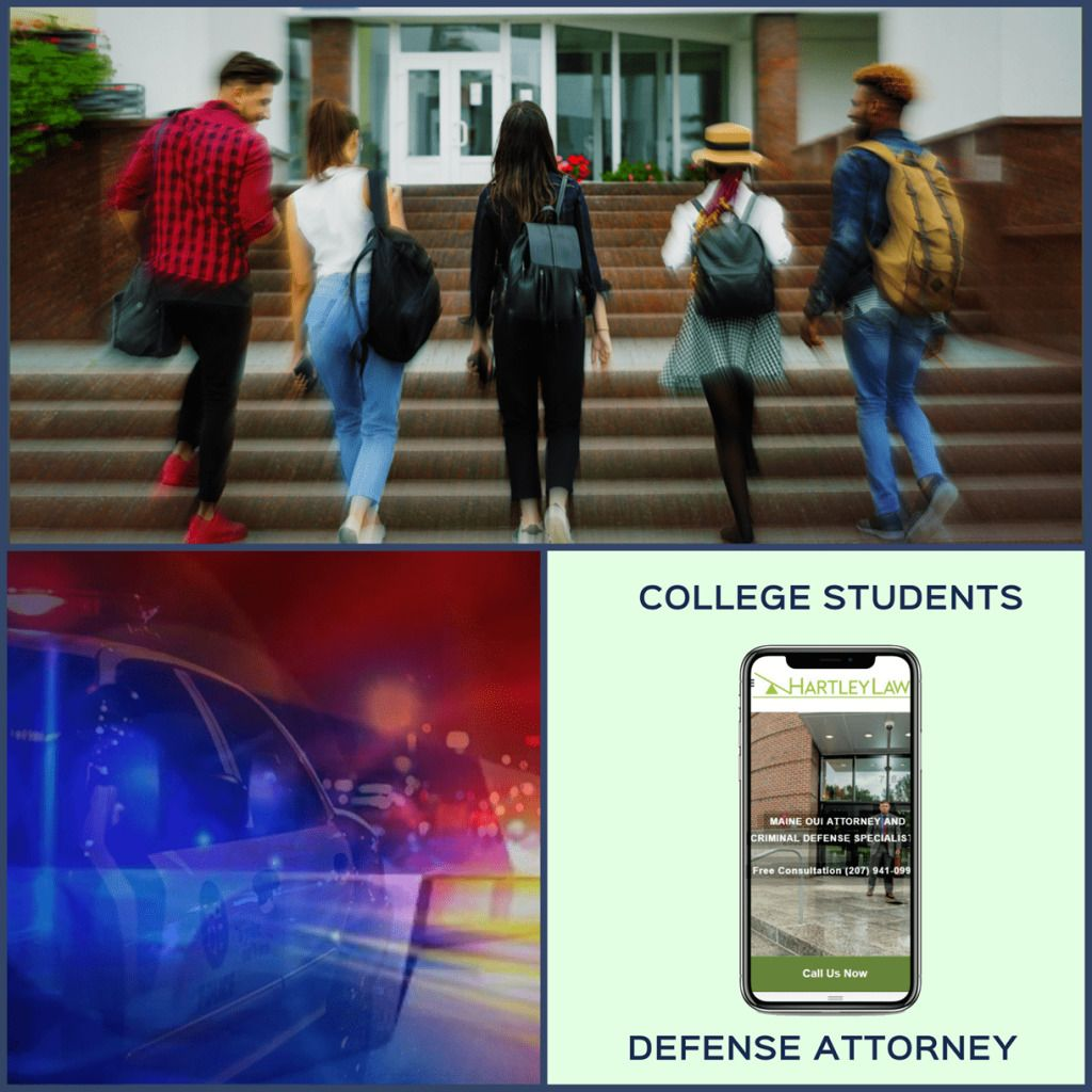 criminal defense attorney for college students in maine